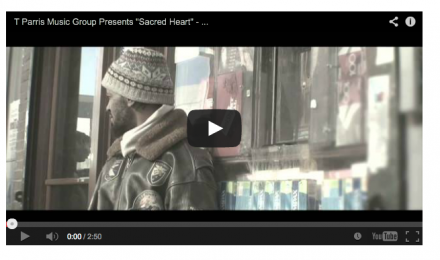 "T Parris Featured OnTheSceneNY Blog – ""Sacred Heart"" Video"