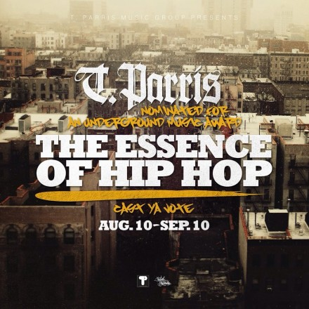 "T.Parris Gets Nominated For A Underground Music Award "" The Essence Of Hip Hop """