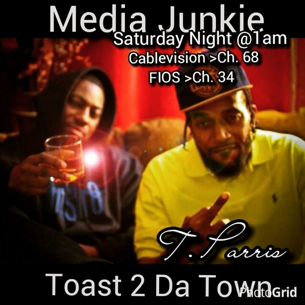 T.Parris Live On Media Junkie Hosted By SugarHill Sky